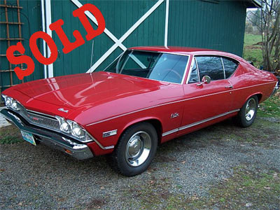 68 to 73 chevelle body for sale